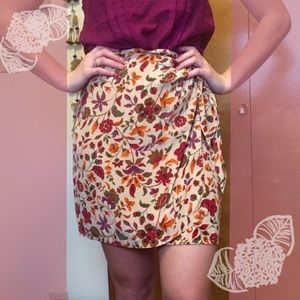 Floral coldwater creek skirt